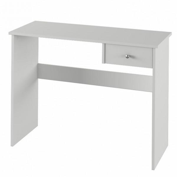 PC stôl, biela, VASOL