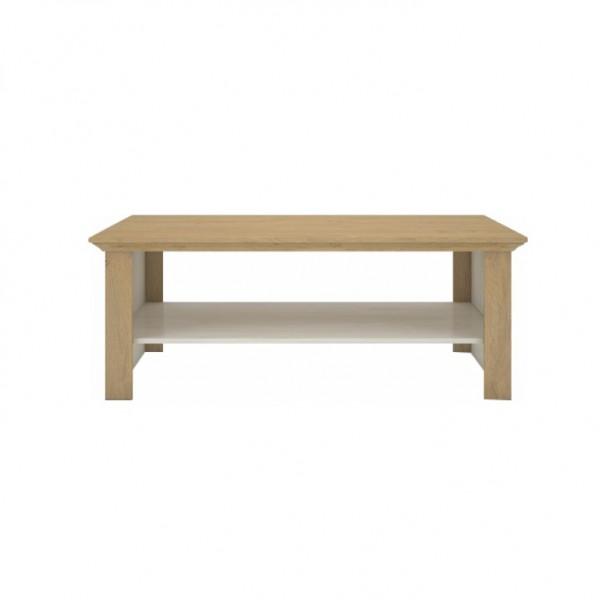 Konferenčný stolík, sosna nordická/dub kamenný, ARMOND TYP 14