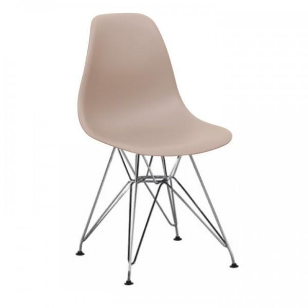 Stolička, teplá sivá, ANISA NEW