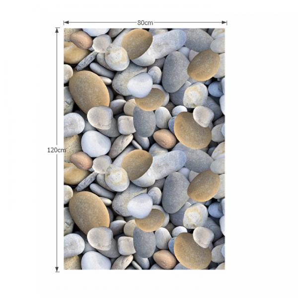 Koberec, viacfarebný, vzor kamene, 80x120, BESS