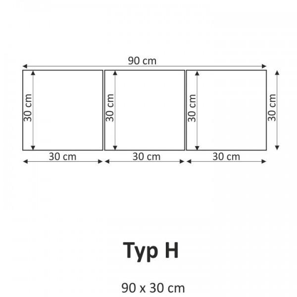 TEMPO KONDELA Obraz, s motívom, 90x30 TYP H, F004043F
