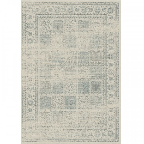 Vintage koberec, sivý, 140x200, ELROND