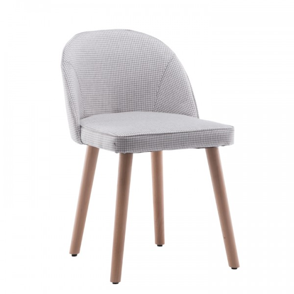 Stolička, béžový vzor, LALIMA
