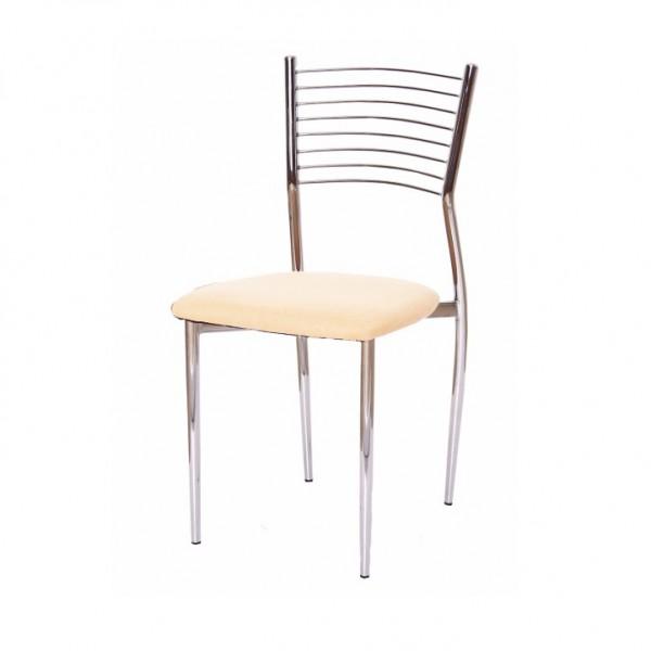 Jedálenská stolička, béžová,  ZAIRA