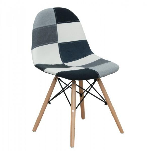 Jedálenská stolička, látka/vzor CANDIE 2 NEW TYP 3 E-53