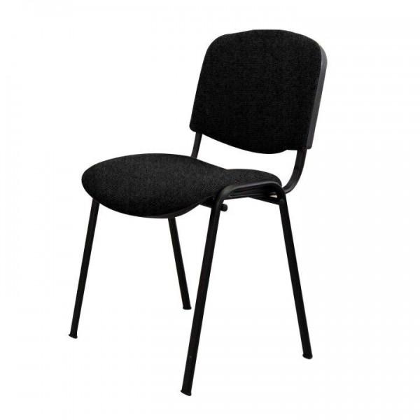 TEMPO KONDELA Kancelárska stolička, čierna, ISO NEW C11