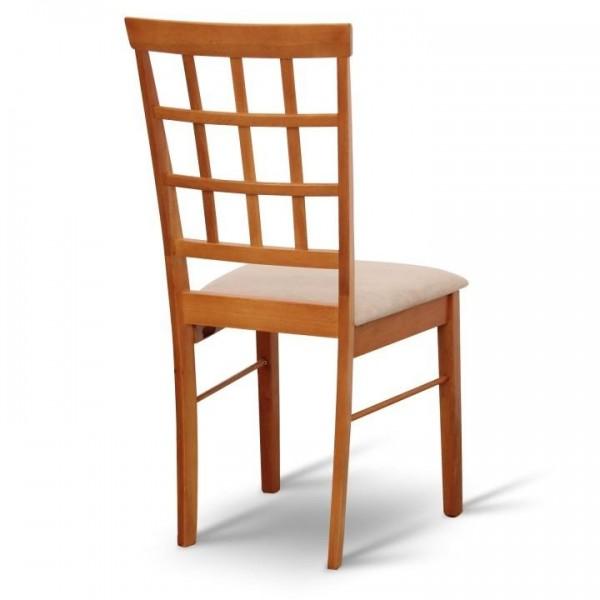 Stolička, čerešňa/béžová, GRID NEW