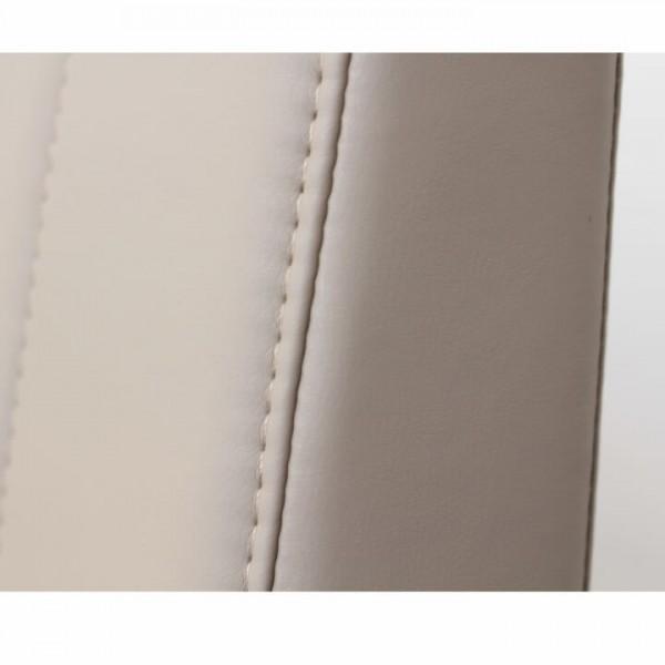 Rohová lavica, sivohnedá ekokoža, ľavá, EMORI TYP 1