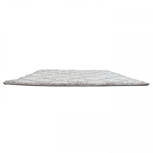 Koberec, krémová/sivá, 133X190, TATUM TYP 1