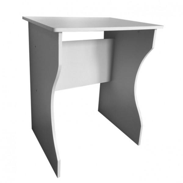 PC stôl, biela, TORVI, tovar 2.triedy
