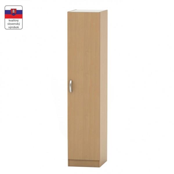 1-dverová skriňa, buk, BETTY 2 BE02-006-00