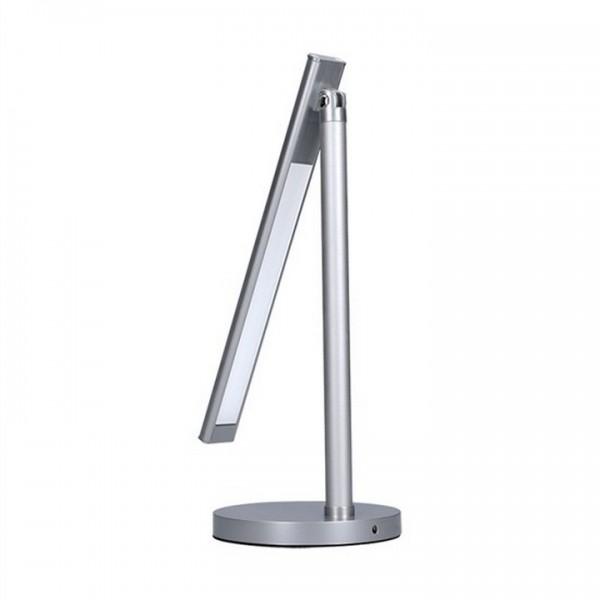 LED lampa, strieborná, WO53-S