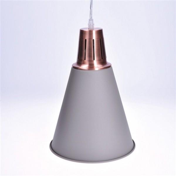 Kovový luster, matná sivá, PALERMO WA010-G