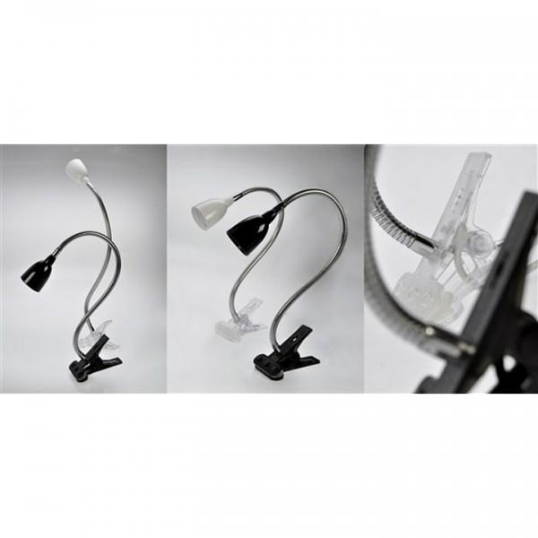 Stolná lampička, čierna, WO33-BK
