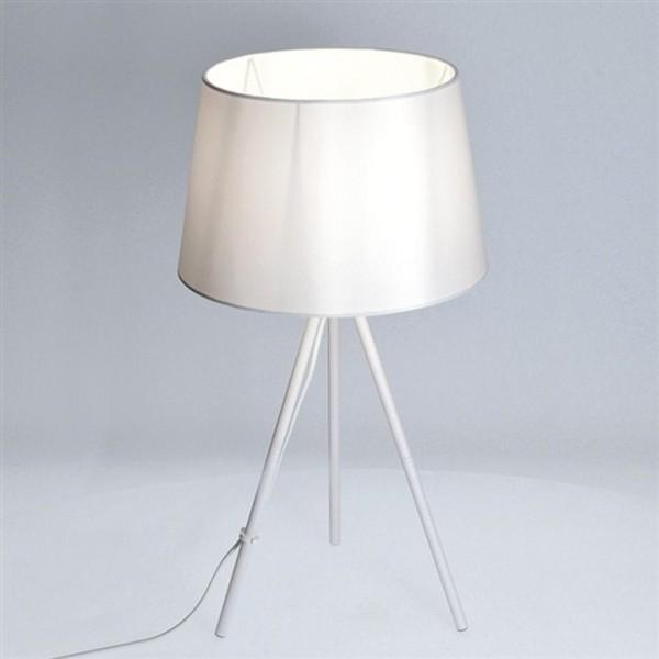 Stolná lampa, matná biela, MILANO WA005-W