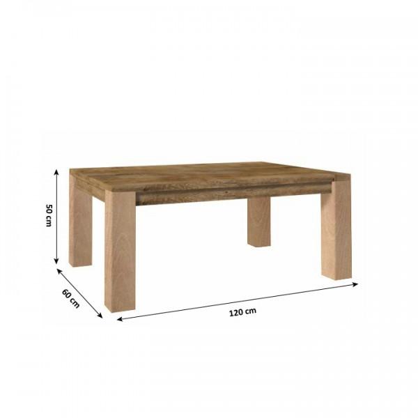 TEMPO KONDELA Konferenčný stolík, dub lefkas, NEVADA LN