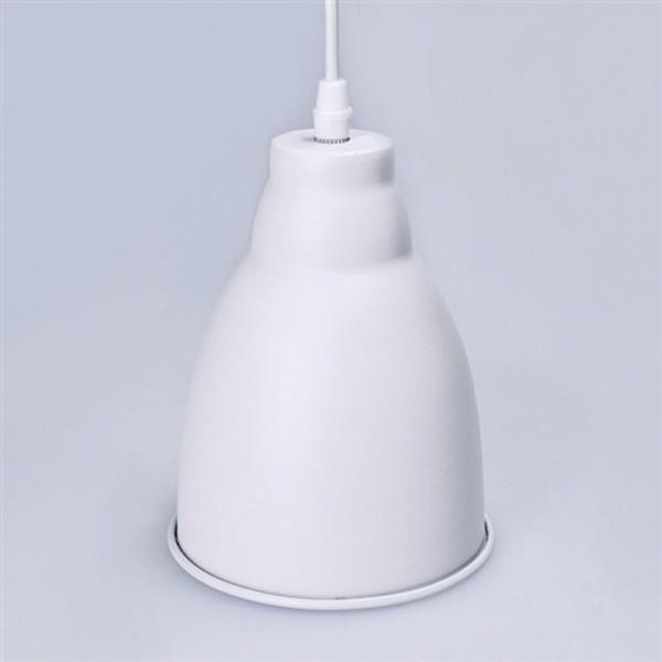 Kovový luster, matná biela, TRENTO WA009-W