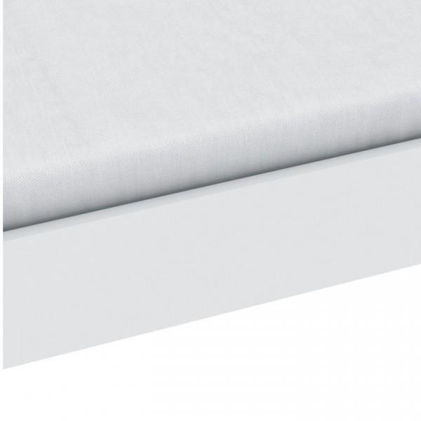 Posteľ, biela,  90x200, TIDY 318617