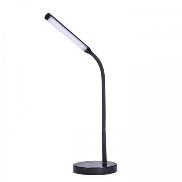 Stolná LED lampa, čierna, WO52-B