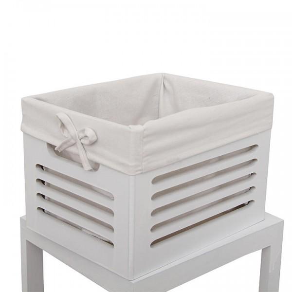 4- šuplíková komoda, biela/sivá, BIBI 4