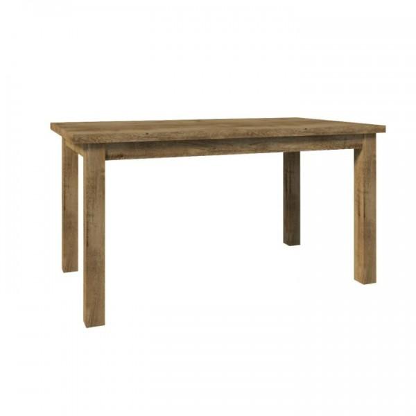 TEMPO KONDELA Jedálenský stôl, rozkladací, dub lefkas, MONTANA STW