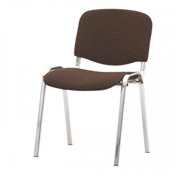 Kancelárska stolička, hnedá, ISO