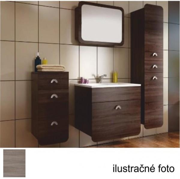 Spodná kúpeľňová skrinka, dub sonoma trufel, DOMINIKA