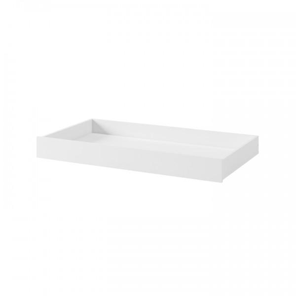 Zásuvný kontajner pod posteľ, biela, ANICEA