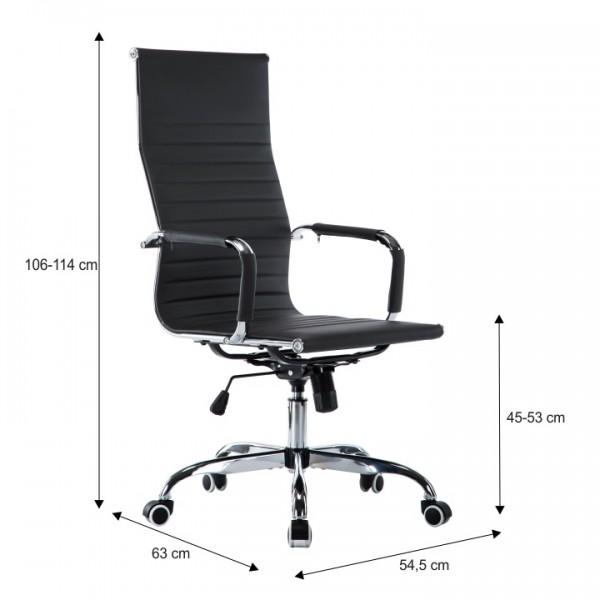 Kancelárske kreslo, sivá, AZURE 2 NEW