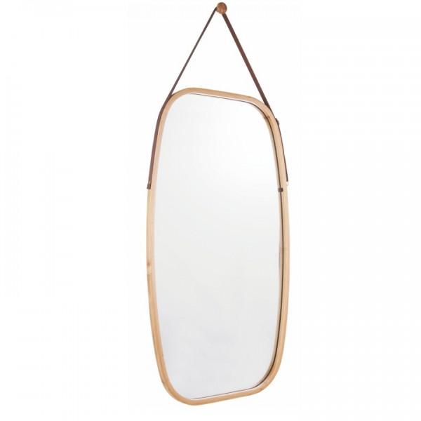 Zrkadlo, prírodný bambus, LEMI 3