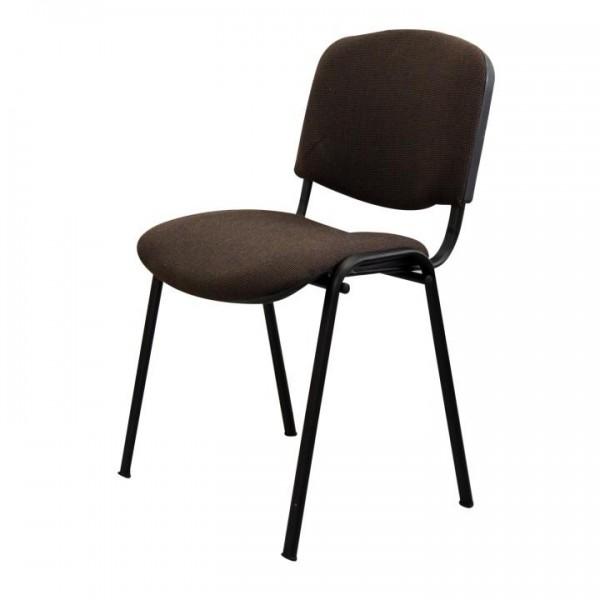Kancelárska stolička, hnedá, ISO NEW