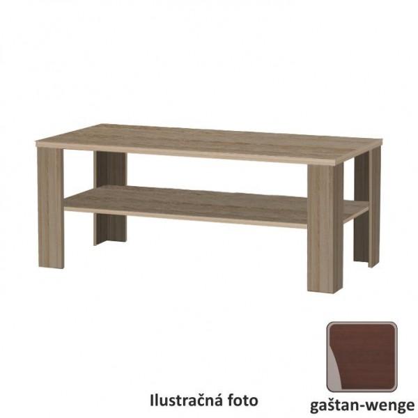 TEMPO KONDELA Konferenčný stolík, gaštan - wenge, INTERSYS NEW 22