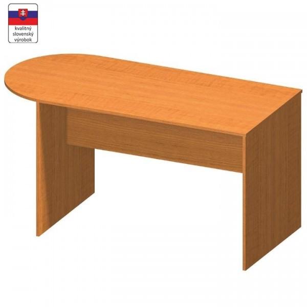 TEMPO KONDELA Zasadací stôl s oblúkom 150, čerešňa, TEMPO ASISTENT NEW 022