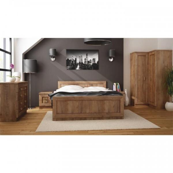 Nočný stolík, dub lefkas, TEDY TYP T16