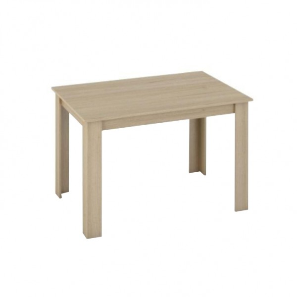 TEMPO KONDELA Jedálenský stôl, dub sonoma, 120x80, KRAZ