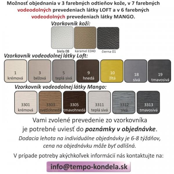 Sedacia súprava, rohová, rozkladacia, P prevedenie, koža + ekokoža karamel, VACO