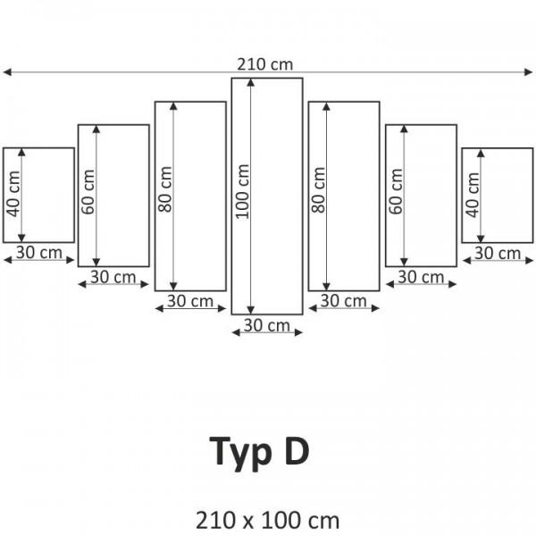 TEMPO KONDELA Obraz, s motívom, 210x100 TYP D, F001852F