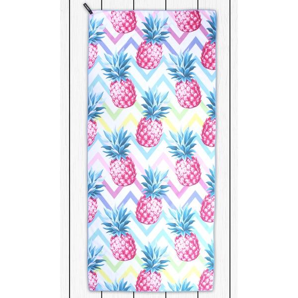 DecoKing Osuška Pineapple, 80 x 180 cm