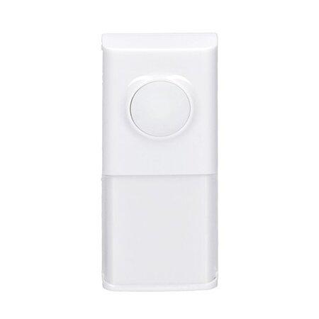 Solight bezdrôtové tlačidlo pre 1L54, 1L54DZ, 1L55, 120m, biele, learning code, kryt na menovku, 1L54T