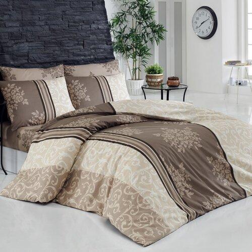 Bedtex Bavlnené obliečky Natura béžová, 220 x 200 cm, 2 ks 70 x 90 cm