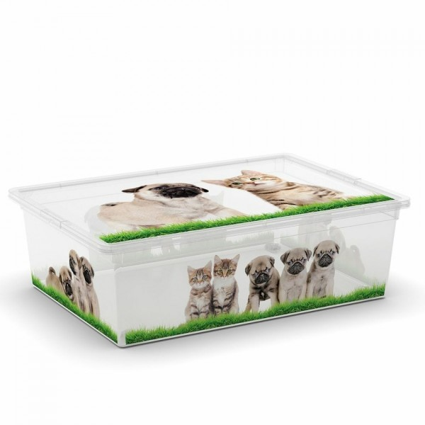KIS C box Puppy & Kitten L, 27 L s kolečky