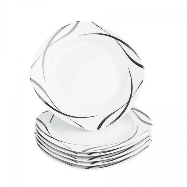 Domestic 6-dielna sada dezertných tanierov Oslo