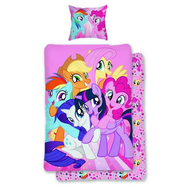 Jerry Fabrics Detské bavlnené obliečky My Little Pony, 140 x 200 cm, 70 x 90 cm