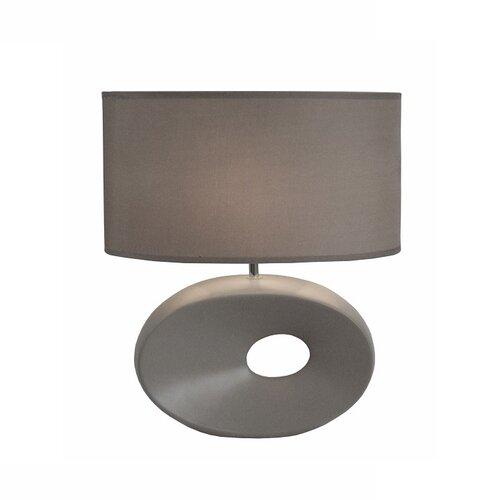 Tempo Kondela Keramická stolná lampa Qenny 11, sivá