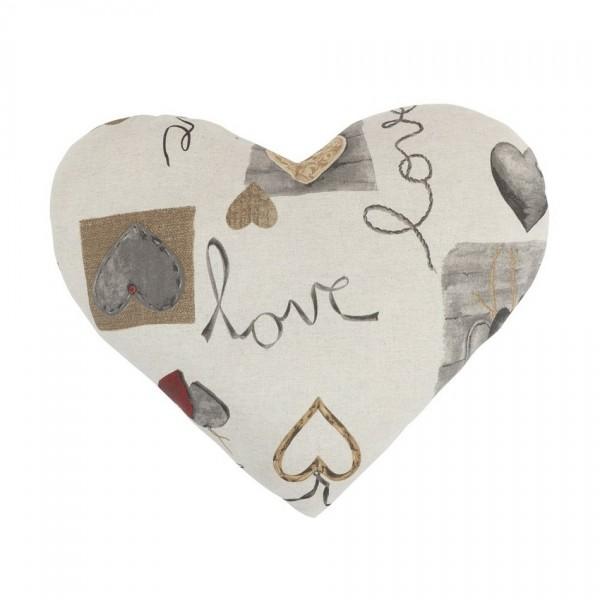 Bellatex Vankúš srdce IVO Zavesené srdcia, 42 x 48 cm