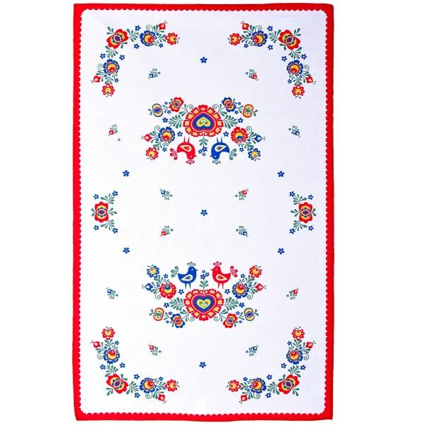 FORBYT Utierka Folklór červená, 45 x 70 cm, sada 3 ks