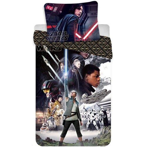 Jerry Fabrics Detské bavlnené obliečky Star Wars VIII, 140 x 200 cm, 70 x 90 cm