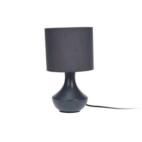 Stolná lampa Silleda, sivá