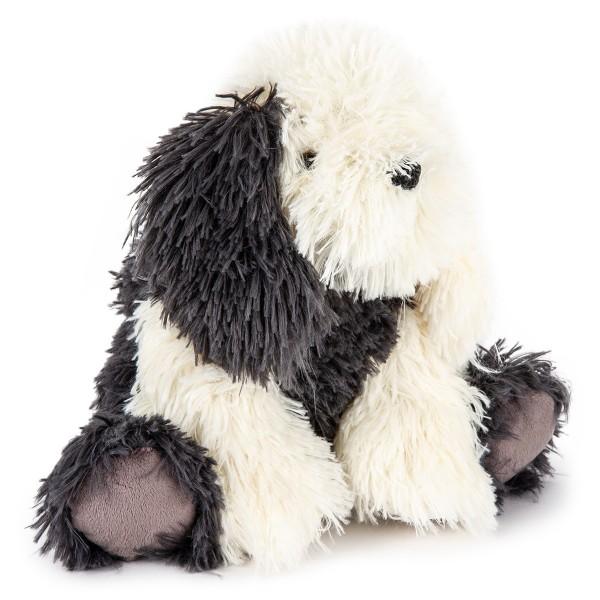 Bo-Ma Trading Plyšový pes Jonatán sivá, 27 cm