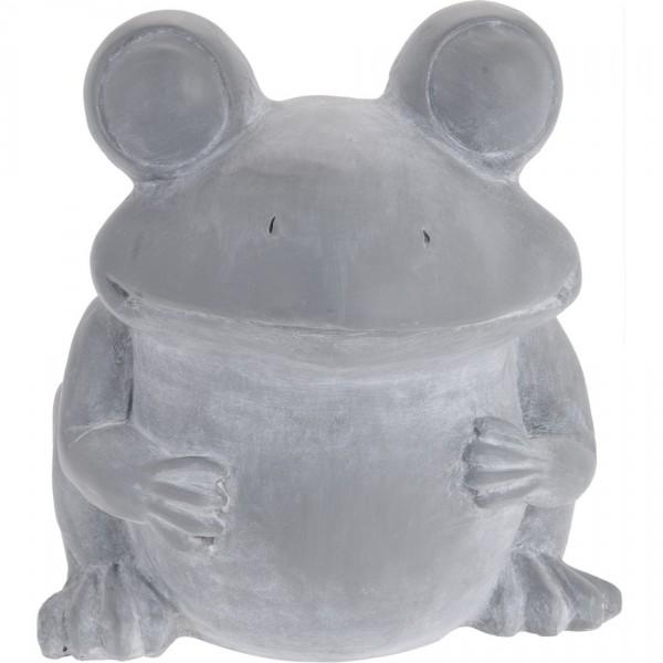 Cementový kvetináč Žaba, 30,5 cm